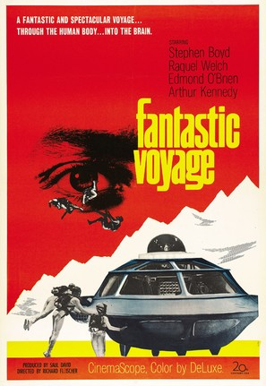 Fantastic Voyage - Theatrical movie poster (thumbnail)