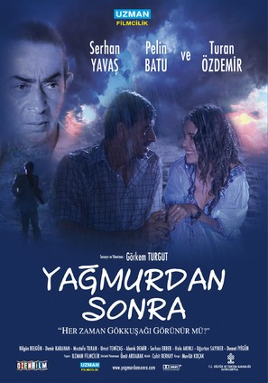 Yagmurdan sonra - Turkish Movie Poster (thumbnail)