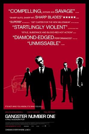 Gangster No. 1 - British Movie Poster (thumbnail)