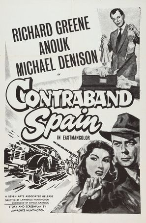 Contraband Spain - Re-release poster (thumbnail)