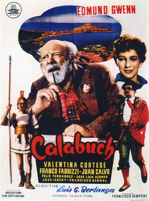 Calabuch - Spanish Movie Poster (thumbnail)