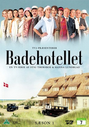 """Badehotellet"" - Danish DVD movie cover (thumbnail)"