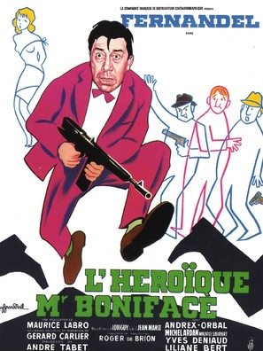 Hèroïque Monsieur Boniface, L' - French Movie Poster (thumbnail)