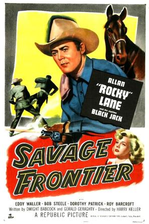 Savage Frontier - Movie Poster (thumbnail)
