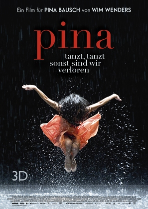 Pina - German Movie Poster (thumbnail)