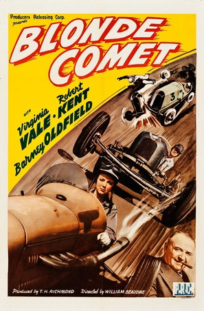 Blonde Comet - Movie Poster (thumbnail)