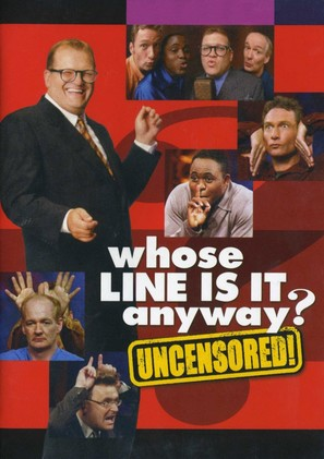 """Whose Line Is It Anyway?"" - DVD movie cover (thumbnail)"