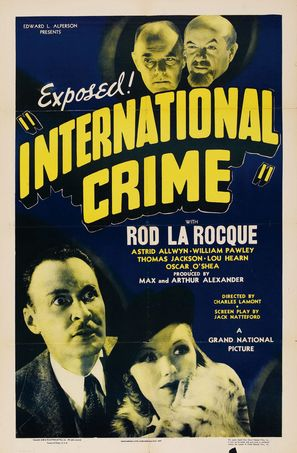 International Crime - Movie Poster (thumbnail)