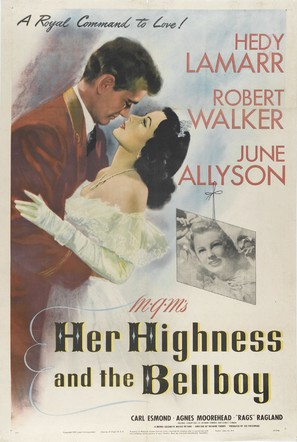 Her Highness and the Bellboy - Movie Poster (thumbnail)