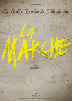 La marche - French Movie Poster (thumbnail)