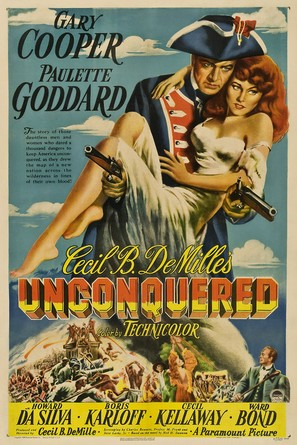 Unconquered - Movie Poster (thumbnail)