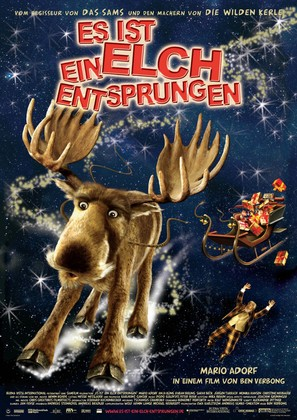 Es ist ein Elch entsprungen - German Movie Poster (thumbnail)