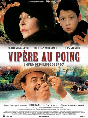 Vipère au poing - French poster (thumbnail)