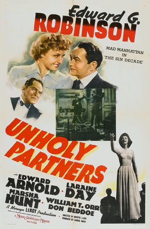 Unholy Partners - Movie Poster (thumbnail)