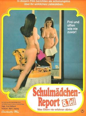 Schulmädchen-Report 8: Was Eltern nie erfahren dürfen - German Movie Poster (thumbnail)