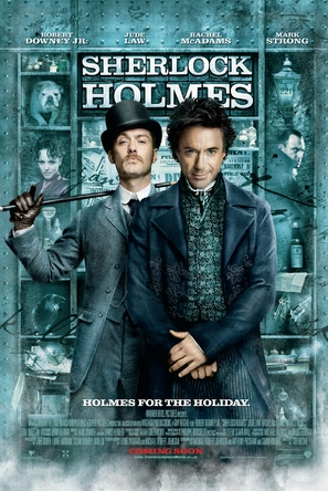 Sherlock Holmes - British Movie Poster (thumbnail)