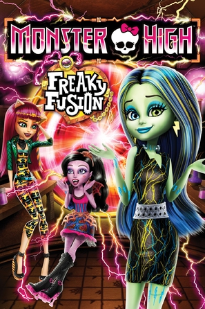 Monster High: Freaky Fusion - Movie Cover (thumbnail)