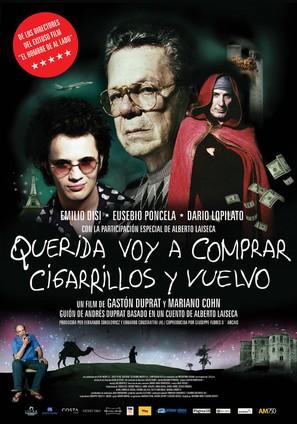 Querida voy a comprar cigarrillos y vuelvo - Argentinian Movie Poster (thumbnail)