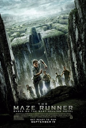 The Maze Runner - Theatrical movie poster (thumbnail)
