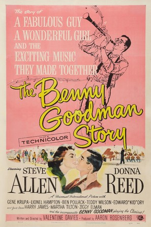 The Benny Goodman Story - Movie Poster (thumbnail)
