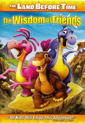 The Land Before Time XIII: The Wisdom of Friends - DVD cover (thumbnail)