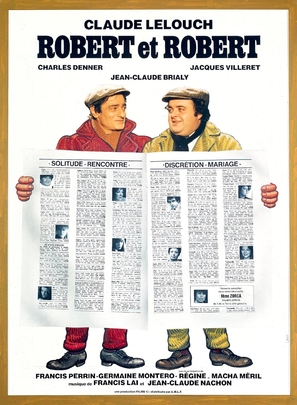 Robert et Robert - French Movie Poster (thumbnail)