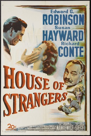 House of Strangers - Movie Poster (thumbnail)