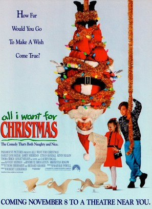 All I Want for Christmas - Movie Poster (thumbnail)