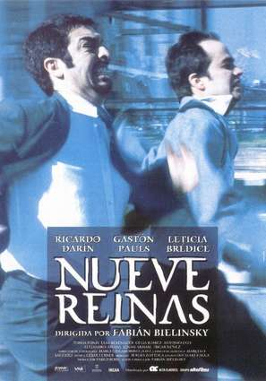Nueve reinas - Spanish Movie Poster (thumbnail)