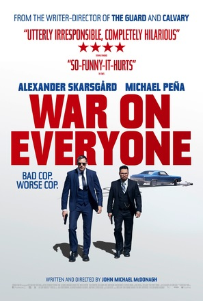 War on Everyone - British Movie Poster (thumbnail)