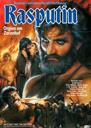Rasputin - Orgien am Zarenhof - German Movie Poster (thumbnail)