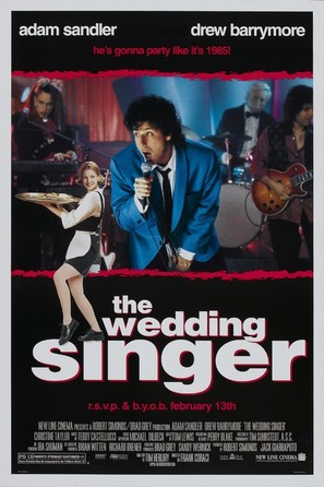 The Wedding Singer - Movie Poster (thumbnail)