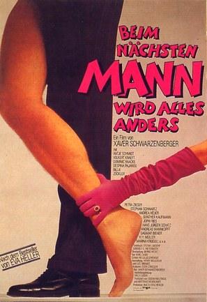 Beim nächsten Mann wird alles anders - German Movie Poster (thumbnail)