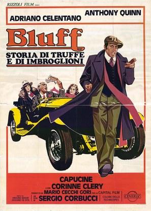 Bluff storia di truffe e di imbroglioni - Italian Movie Poster (thumbnail)