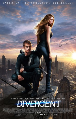 Divergent - Movie Poster (thumbnail)