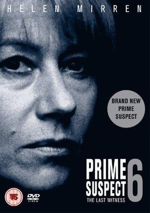 Prime Suspect 6: The Last Witness - British DVD movie cover (thumbnail)