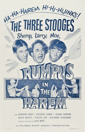 Rumpus in the Harem - Theatrical poster (thumbnail)