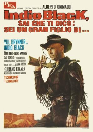Indio Black, sai che ti dico: Sei un gran figlio di... - Italian Movie Poster (thumbnail)