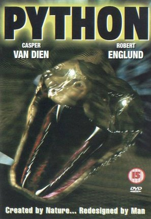 Python - British DVD cover (thumbnail)