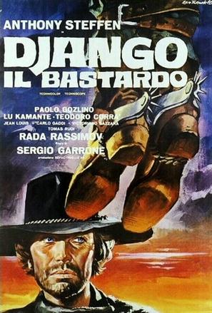 Django il bastardo - Italian Movie Poster (thumbnail)