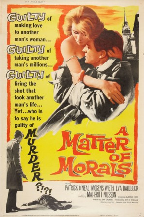 A Matter of Morals - Movie Poster (thumbnail)