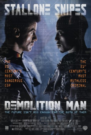 Demolition Man - Movie Poster (thumbnail)