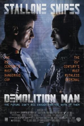 Demolition Man - Movie Poster (thumbnail)