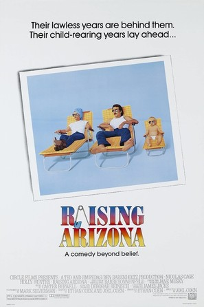Raising Arizona - Movie Poster (thumbnail)
