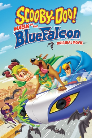 Scooby-Doo! Mask of the Blue Falcon - DVD cover (thumbnail)