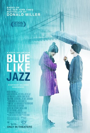 Blue Like Jazz - Movie Poster (thumbnail)