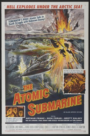 The Atomic Submarine - Movie Poster (thumbnail)