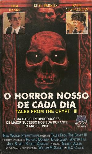 Vault of Horror I - Brazilian VHS movie cover (thumbnail)