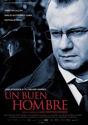 Un buen hombre - Spanish Movie Poster (thumbnail)