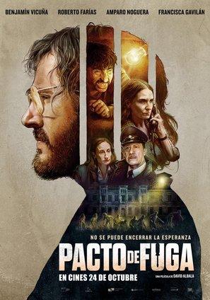 Pacto de Fuga - Chilean Movie Poster (thumbnail)
